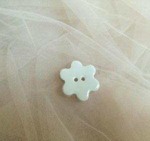fiore bottoncino decoro ceramica