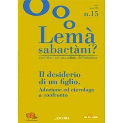 Lemà Sabactàni? n. 15, anno...